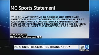 MC Sports files for Chapter 11 bankruptcy