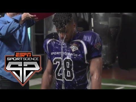 Download Video Saquon Barkley Undergoes The Weather Test | Sport Science | ESPN