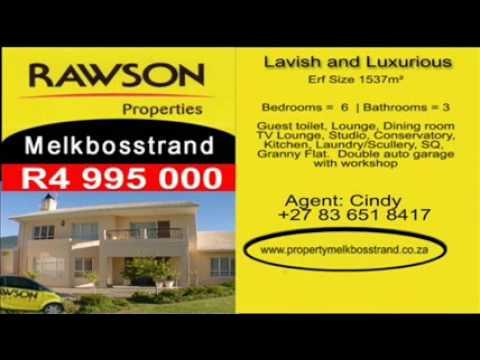 PROPERTY SOUTH AFRICA |R4 995 000 | MELKBOSSTRAND | REF NO SAHT07010E25C951 | WEST COAST