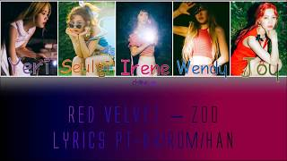 Red Velvet (레드벨벳) – Zoo [LEGENDADO PT-BR LYRICS{Color Coded PT-BR/ROM/HAN}]