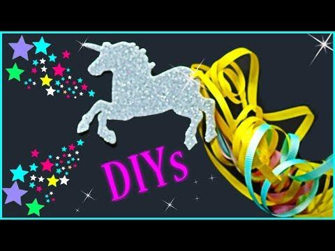 5 UNICORN DIYs YOU NEED TO TRY!! DIY Unicorn School Supplies, Slime & Room Decor   Easy & Cute
