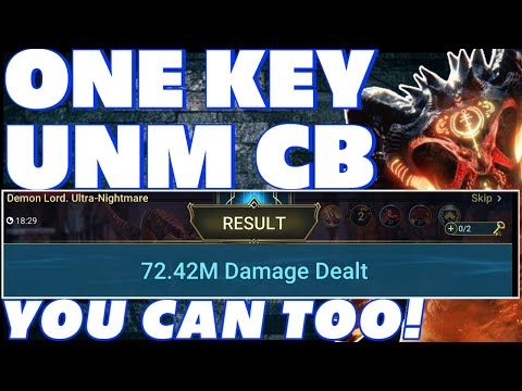 ONE KEY UNM CLAN BOSS BUILD GEAR MASTERIES RAID SHADOW LEGENDS