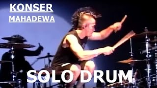 Ikmal Tobing Solo Drum | Konser MAHADEWA