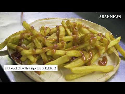 Step aside Burger King, Lebanon's Malak Al-Batata is claiming the French fries sandwich