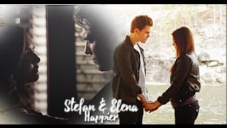 Stefan & Elena (+Damon) | Happier