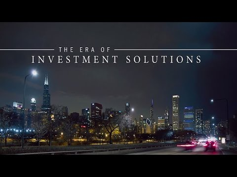 The Era of Investment Solutions