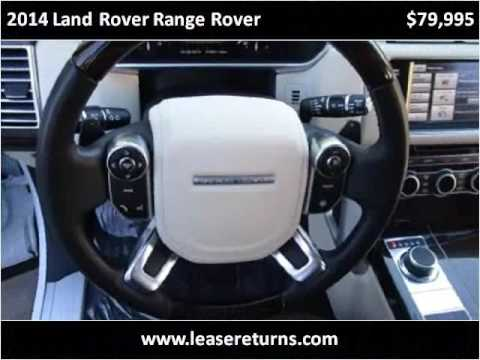 2014 Land Rover Range Rover Used Cars San Ramon CA