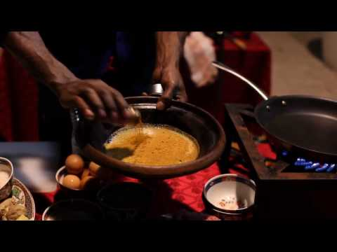 Chef Marcus Samuelsson in Morocco – Pannbiff with durban curry spice
