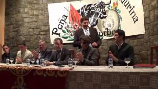 La Peña Cultural Taurina de Segorbe premia al torero, Juan J Padilla, triunfador de la Feria de l