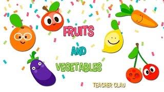 Aprende en Inglés las Frutas y Verduras! (Fruits & Vegetables)