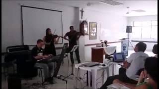 QUE BOM QUE VOCÊ CHEGOU - Apresentação em Curso de Noivos (Música para Casamentos RJ)