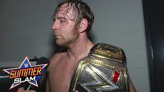 Dean Ambrose admits to being a jerk: SummerSlam Exclusive, Aug. 21, 2016