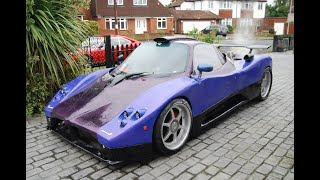 Building a Zonda inspired car from scratch in 5 Years evolution..