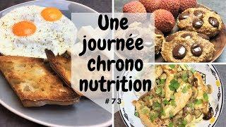 Une journée dans mon assiette #73 CHRONONUTRION & explications - UJDMA.FR