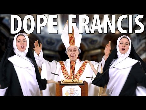Pope Francis Raps the 10 Commandments [RAP NEWS 33]