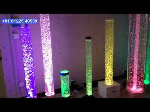 Water Bubble Standee Pillar Decor India +91 81225 40589