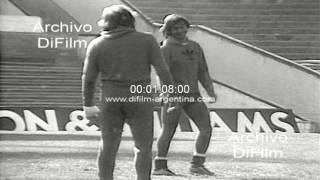 Antonio Alzamendi partido con Peñarol de Montevideo - Copa Libertadores 1979
