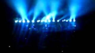 Massive Attack - Karmacoma live @ Luzhniki 14.10.2009 pt.1