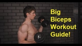How To Get Bigger BICEPS: Complete Biceps Workout Guide