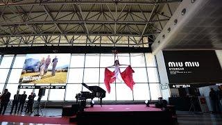 Cerimonia di inaugurazione Malpensa per EXPO 2015 con Erika Lemay