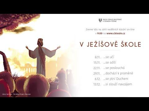 V Ježíšově škole... se učí