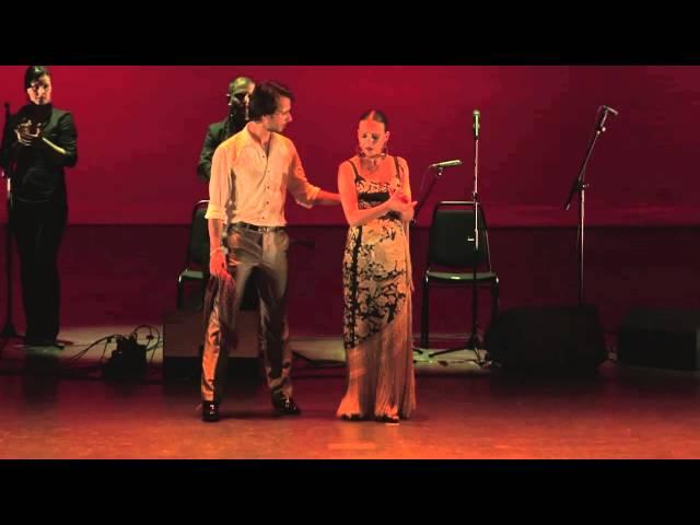 Vídeo de Sonia Cortés cantando.