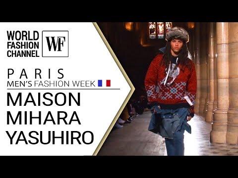 Maison Mihara Yasuhiro Fall-winter 19-20 Paris man`s fashion week