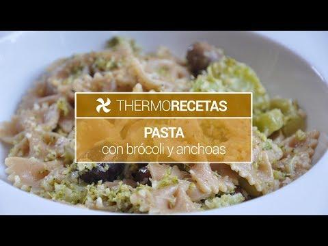 Pasta con bro?coli y anchoas