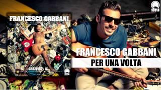 Francesco Gabbani - Per una volta [Official]