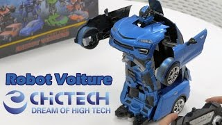 Jouet Robot Voiture ChicTech - Démo en français