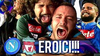 EROICI!!! NAPOLI 1-0 LIVERPOOL | LIVE REACTION SAN PAOLO CHAMPIONS LEAGUE 4K