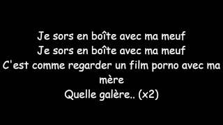 Max Boublil - En Boîte (Lyrics)