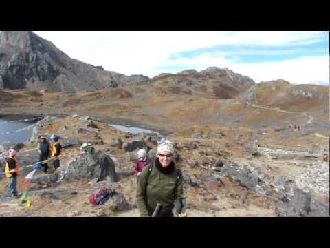 Martin in Nepal 2012 –  am Laurebina-Pass (4600m)