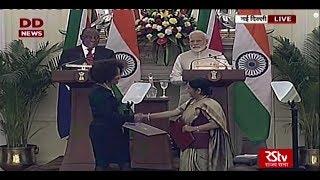 Joint Press Statement by PM Narendra Modi & South African President Cyril Ramaphosa
