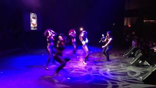 CIARA (ZAZI Z) - PERFORMAING AT T.I. - KIRKO BANGZ - FUTURE CONCERT - 2013 Overdose body party