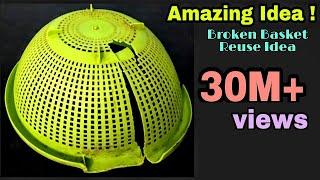 DIY Best Craft Idea/Best reuse of Waste Basket Craft Idea width=