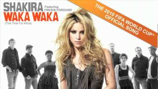Shakira feat Freshlyground Waka Waka This Time For Africa OFFICIAL