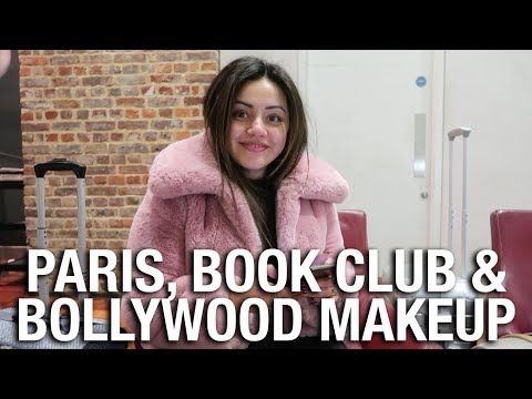 PARIS, BOOK SIGNING, BOLLYWOOD MAKEUP & PUPPY IVY ??
