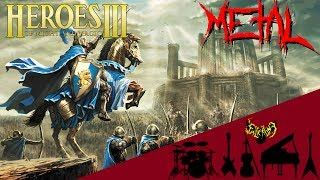 Heroes of Might and Magic 3 - Main Menu Theme【Intense Symphonic Metal Cover】