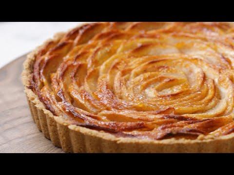 How to Make Low-Sugar Apple Tart ? Tasty