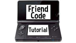 Nintendo 3DS/2DS Friend Code Tutorial