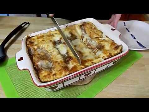 Lazanje sa piletinom   Chicken Lasagna