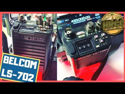 Weird Ham Radio Gear! Belcom LS-702 433 MHz SSB&FM Ham Radio Transciever