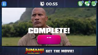 JUMANJI: Welcome to the Jungle - Scene Slam App