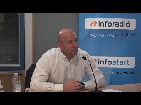 InfoRádió - Aréna - Homolya Róbert - 2021.10.20.