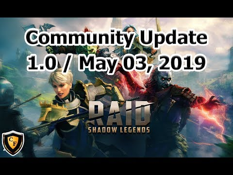 RAID: SL - Community Update 1.0 - May 03, 2019
