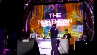 DJ Ashley Rivera at Northern Lights Music Festival