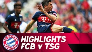 FC Bayern v TSG 1899 Hoffenheim 1:0 | Highlights | Telekom Cup - Semi-Final
