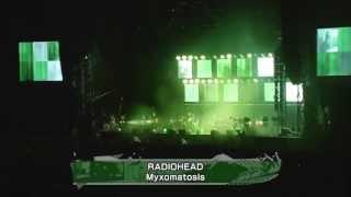 Radiohead - Myxomatosis [HD] (Live Fuji Rock Festival 2012)