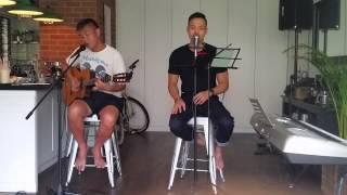 Mark Chong & Hyde Koh covering 关怀方式  - 陈汉伟